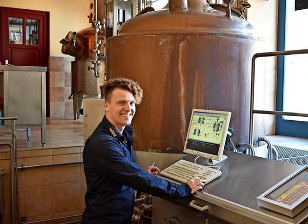 Tim Eggensteins Destille stammt vom Bodensee. Foto: Natalie Preißler