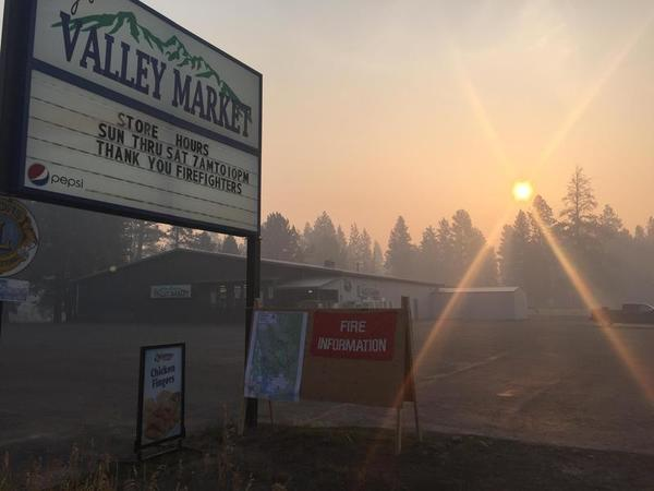 Wildfire smoke could intensify spread, deadliness of COVID-19, researchers say