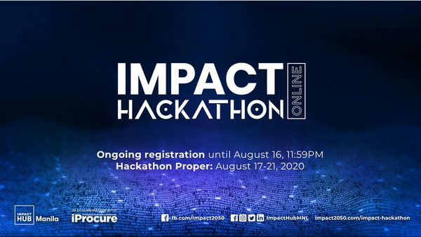 Ongoing registration for Impact Hackathon Online