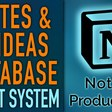 Notes & Ideas Vault 📝💡 Notion Database | Vault System