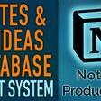 Notes & Ideas Vault 📝💡 Notion Database | Vault System