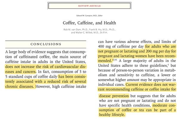 Kawa, kofeina i ich wpływ na zdrowie