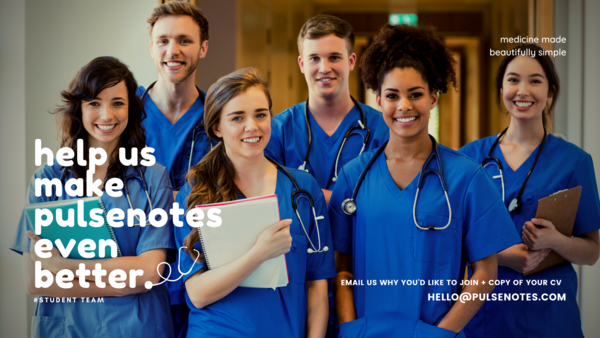 Super-keen medical / PA / healthcare students. Join our STUDENT TEAM!
