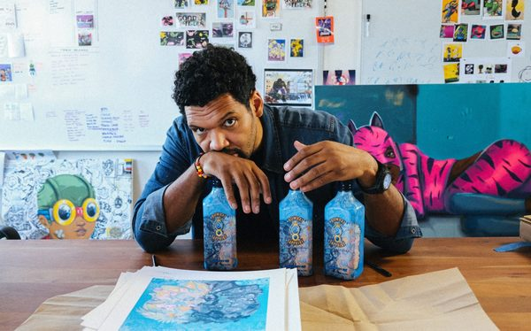 Artist Hebru Brantley Partners with Bombay Sapphire Gin to Support Racial Justice