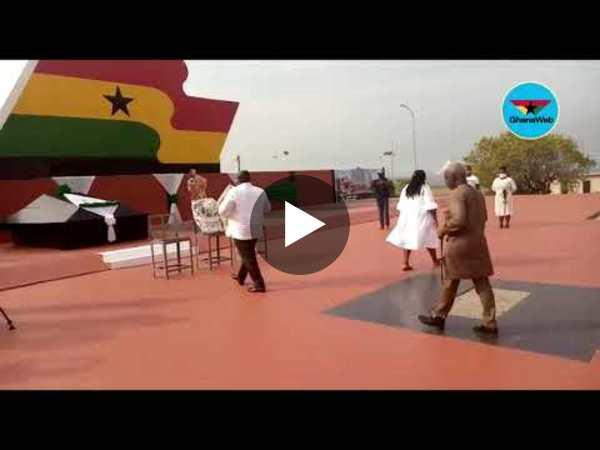 Koku Anyidoho, NDC hold separate ceremonies to commemorate Atta Mills