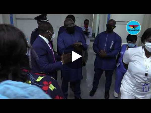 Bawumia opens $7.5m Ghana Infectious Disease Centre