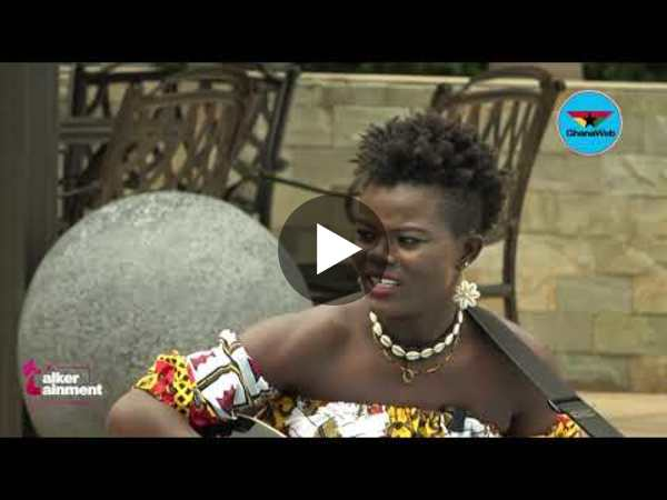 Wiyaala 'the singing lioness' takes turn on Talkertainment