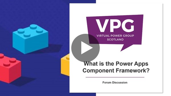 What is the Power Apps Component Framework?