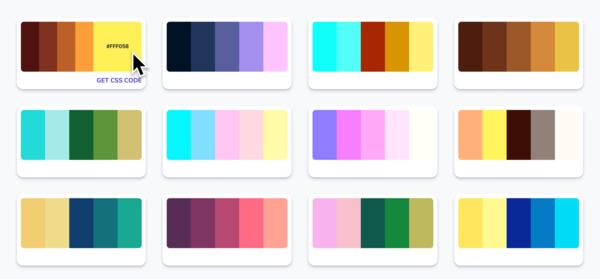 CSS Color Palette Generator
