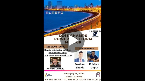 How to start your PCF journey with MVP Andrew Ly : Mumbai meetup