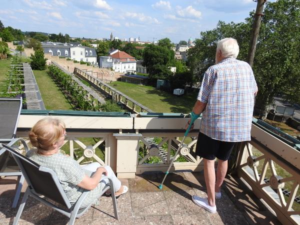 Blick aus dem Winzerhaus am Winzerberg. Foto: Rainer Schüler