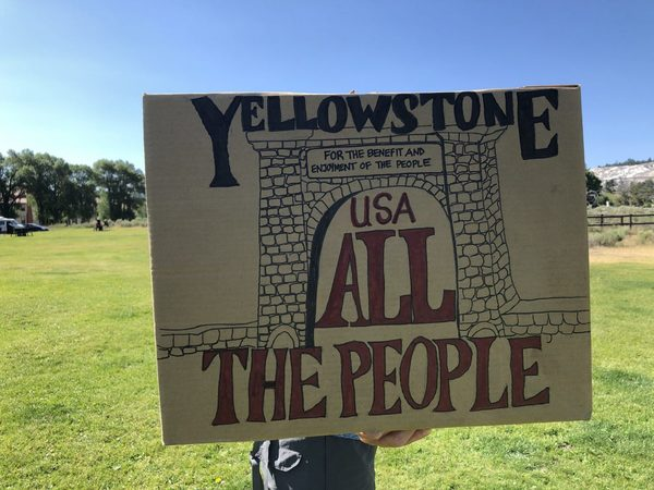 Black Lives Matter meets Yellowstone