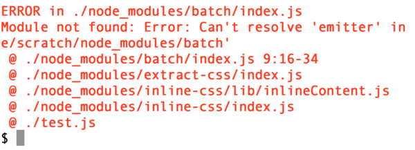 Wait, wat? I don't even use any of these modules...