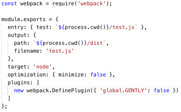Plugin to fix Webpack compiling formidable