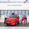 Letzter e-Golf verlässt das VW-Werk Wolfsburg