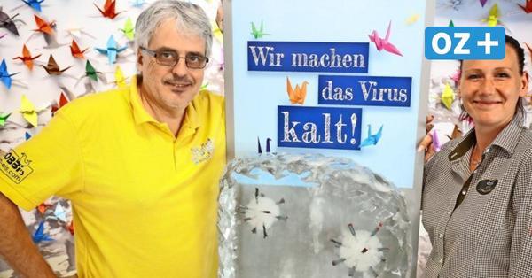 Kampf gegen Corona: Wie ein Stralsunder das Virus kaltmacht