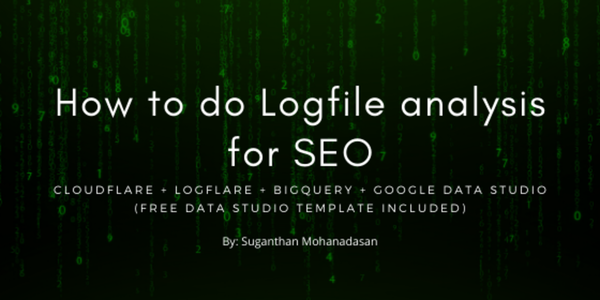How to do advance Logfile analysis for SEO - Suganthan Mohanadasan