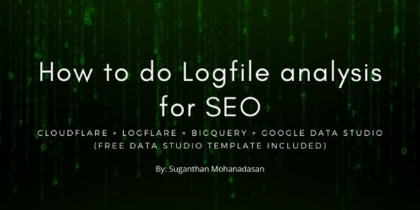 How to do advance Logfile analysis for SEO - Suganthan Mohanadasan