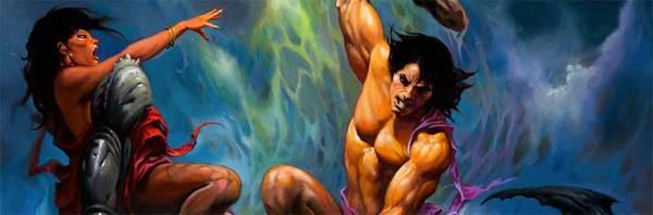 Ken Kelly - Original Conan Painting
