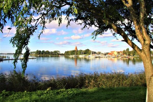 Blick auf den Kirchdorfer Hafen (Foto: Matthias Neckin)