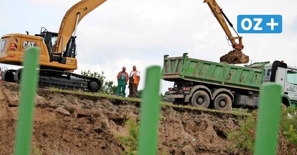 Nach Erdrutschen an A 20 bei Wismar: Aufbau der Böschung wird aufwendig