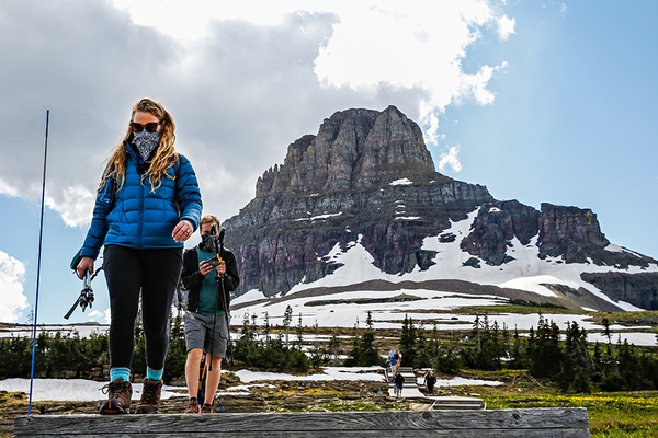 At Glacier National Park, a pandemic summer is putting the squeeze on infrastructure even with lower visitation