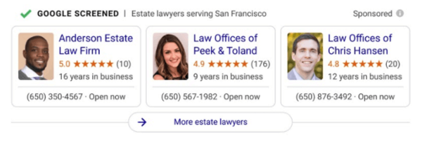 Google rolling out 'Google Screened' to select professional services nationally (U.S.)