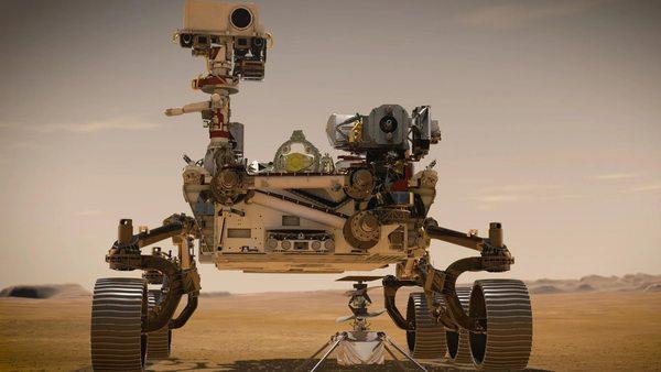 """... der Nasa-Rover """"Perseverance"""", der aus Cape Canaveral auf die lange Reise zum Mars gestartet ist"""