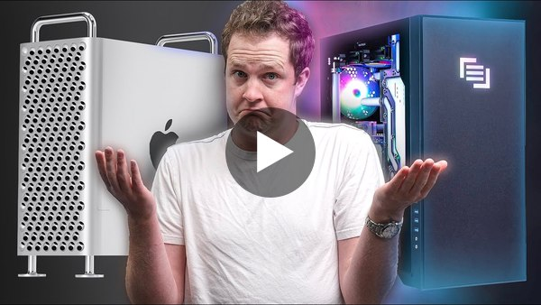 I'm SHOCKED! $11,000 Mac Pro vs $11,000 PC!