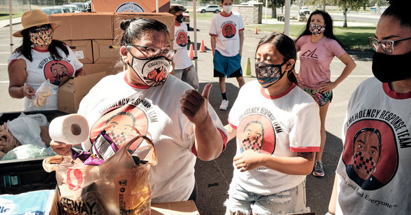 Native Americans feel devastated by the coronavirus yet overlooked in the data