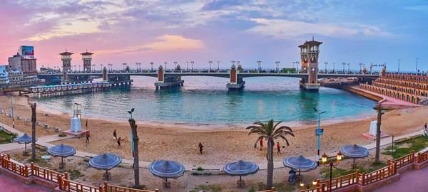 Alexandria, Egypt. https://en.wikipedia.org/wiki/Alexandria