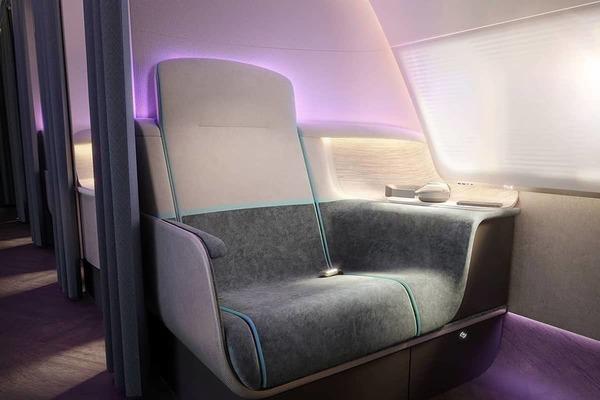 Incredible Business Class Suite Design Makes Germaphobes' Dreams Come True