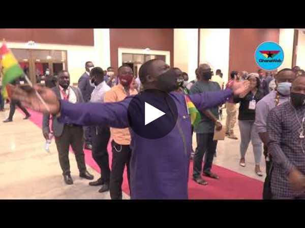 Check out Sam George, Joshua Alabi dance moves to Diana Hamilton's 'Mo Ne Yo'