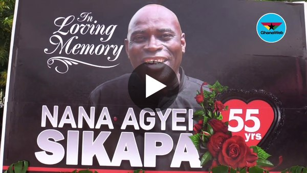 Highlights of Nana Agyei Sikapa's funeral