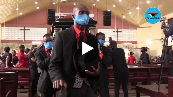 Tears flow as Nana Agyei Sikapa goes home