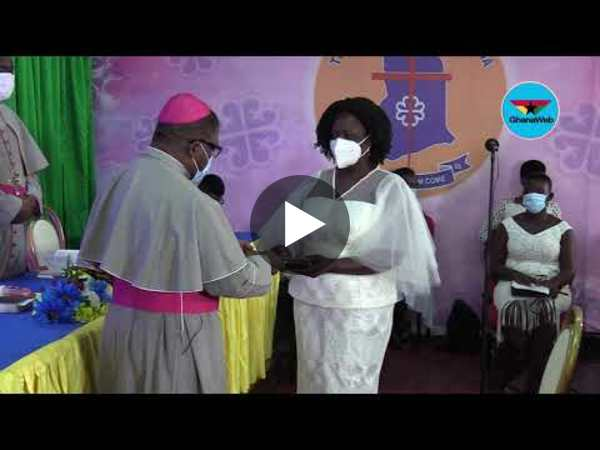 Professor Naana Jane Opoku Agyemang holds Thanksgiving service