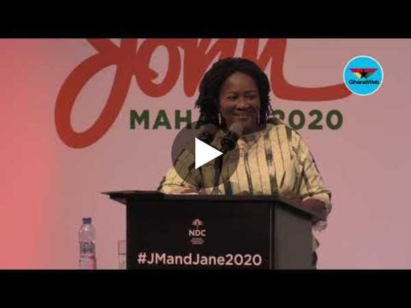 Full speech: Prof. Jane Naana Opoku-Agyemang speaks after official outdooring