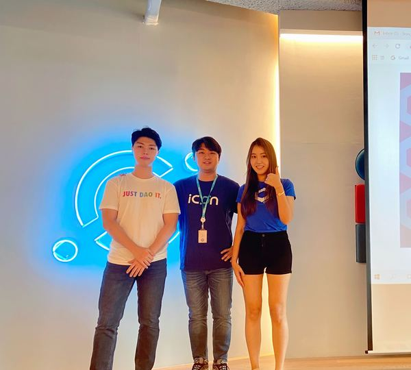 Presenters from ICON, MakerDAO and Chainlink