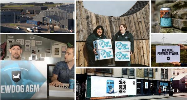 BREWDOG's success in a montage