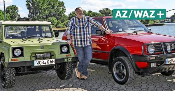 Offroad-Klassiker von VW: Wie alltagstauglich sind der Golf II Country und Gurgel X-12?