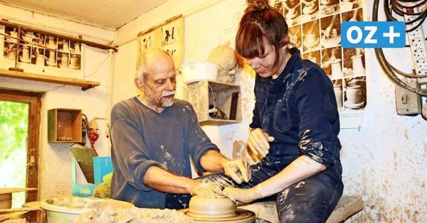 50 Jahre Keramiker: Töpfermeister bei Bad Doberan bangt um Existenz
