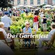 Gartenfest in royaler Umgebung
