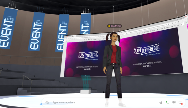 Why to choose 3D for your next virtual event