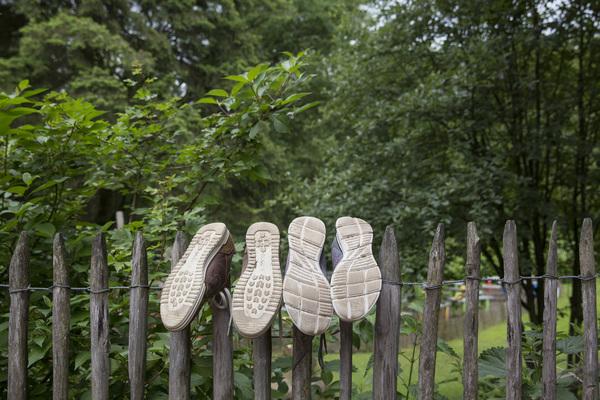 Die Schuhe haben Pause. (Foto: Villegas)