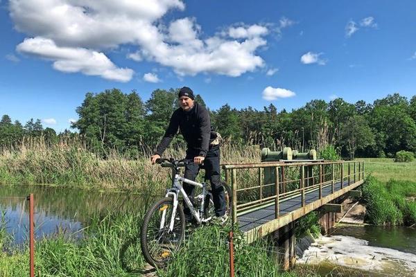 Am besten ist die Strecke mit dem Mountainbike zu bewältigen, aber auf Schusters Rappen ist dies für Wanderer auch kein Problem. Quelle: Helge Treichel