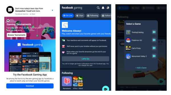 The first look at Facebook Gaming beta for Android and why game devs should check it too
