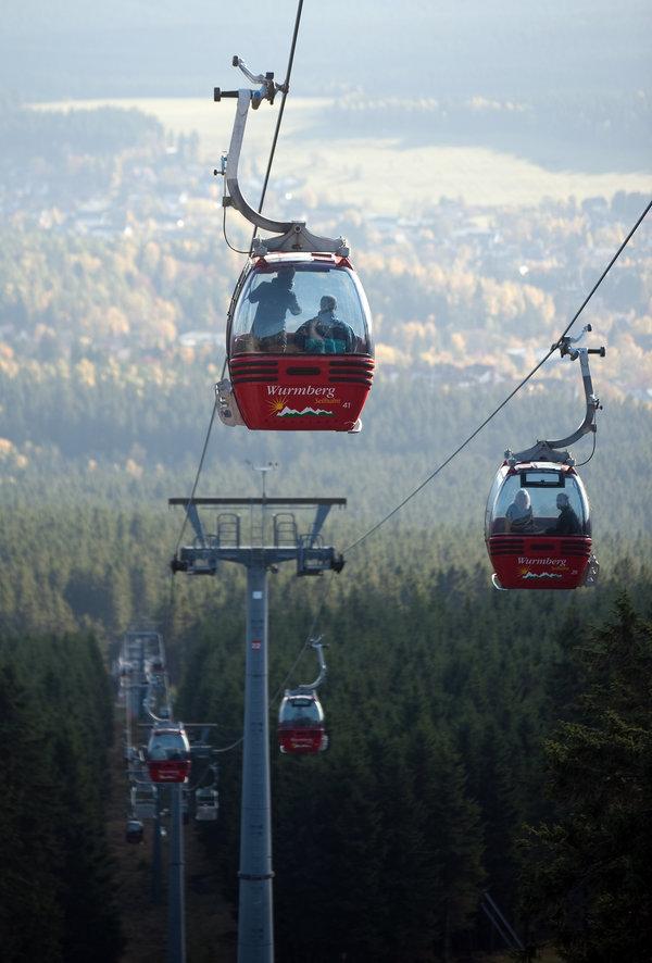 Die Wurmbergseilbahn bietet die Möglichkeit, die Tour am Ende abzukürzen. (Foto: Dröse)