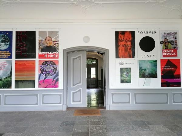 Ausstellung im Schloss Püschow (Foto: Anett Meinke)