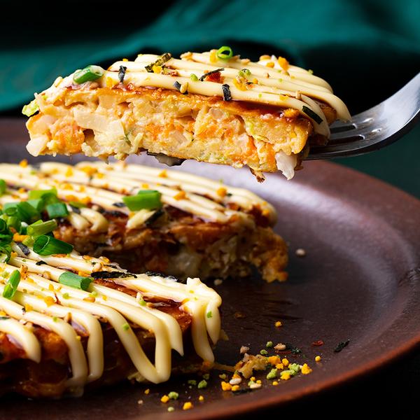 Sweet Potato Okonomiyaki