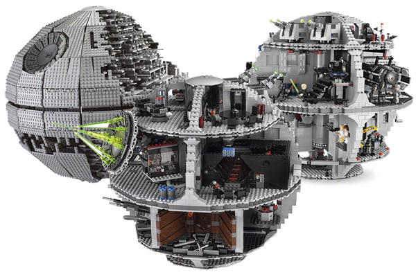 Give them Lego and they will build Death Stars